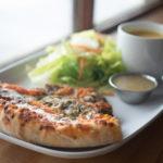 Trio pizza du Café du Flâneur